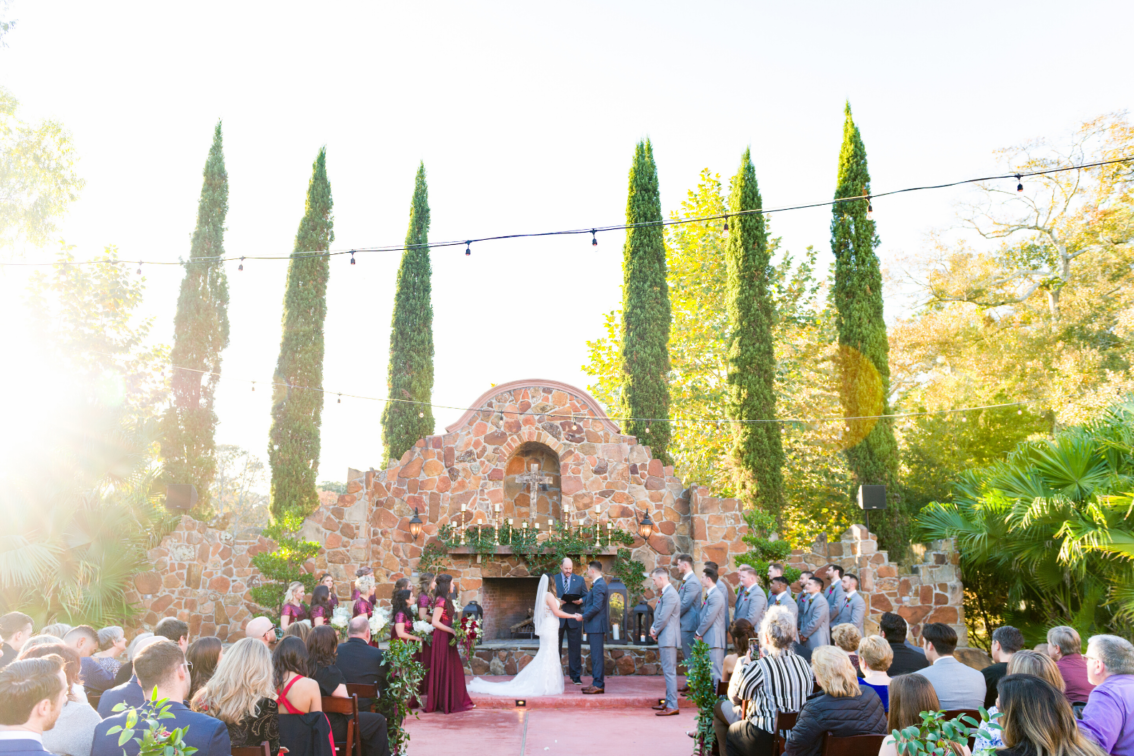 Wedding Ceremony at Madera Estates
