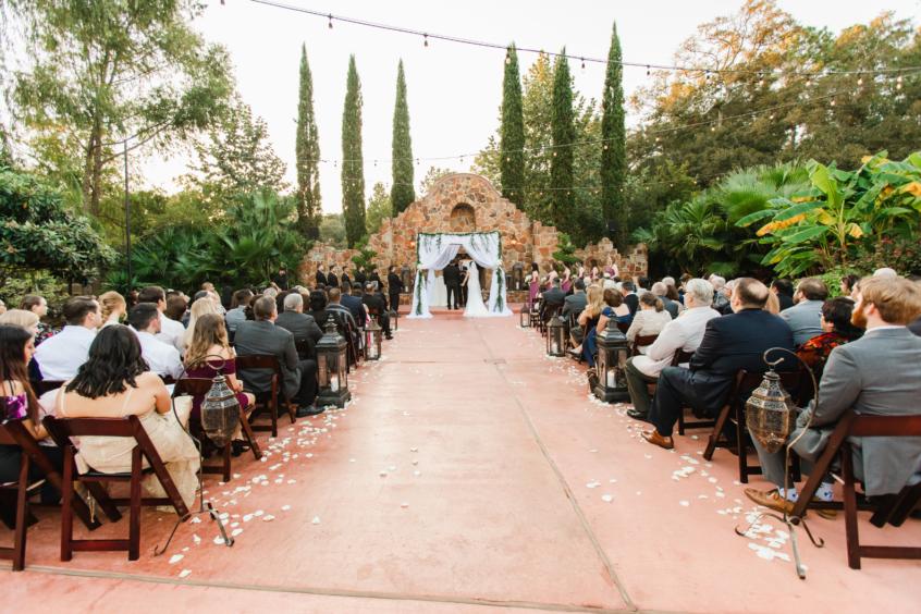 Wedding Ceremony at Madera Estates in Conroe, TX