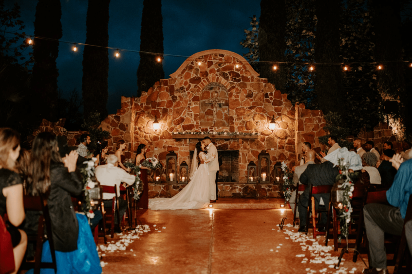 Madera Estates Real Wedding - Frieson's