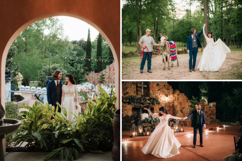 Saida & Rand Real Wedding Madera Estates - Outdoor Wedding Reception In Conroe, Texas