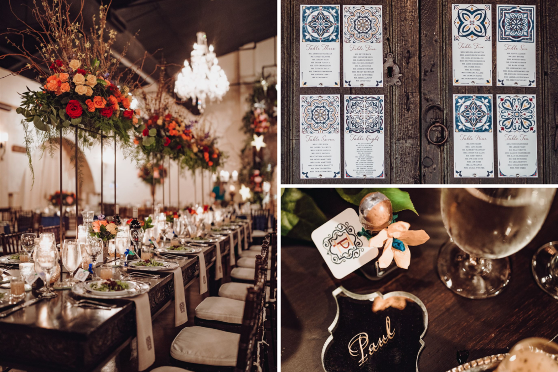 Wedding Seating Charts - Madera Estates Blog