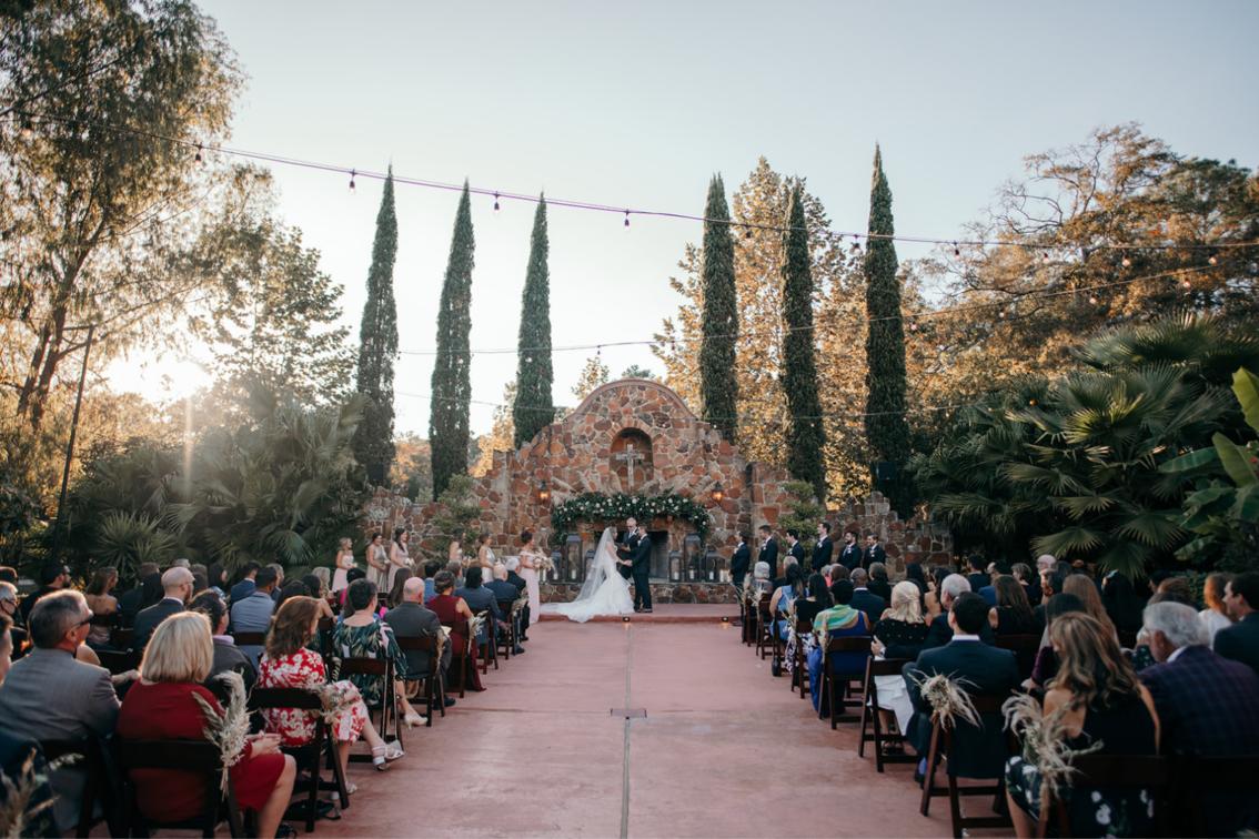 Derek & Courtney - Outdoor Houston Wedding Madera Estates