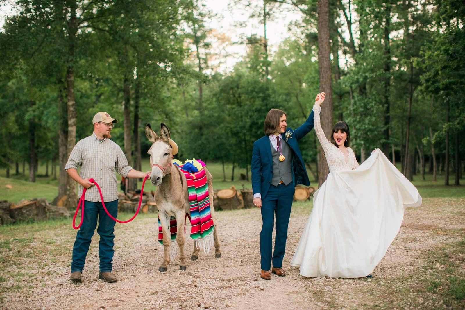 Saida + Rand: Incorporating animals into your wedding day 2