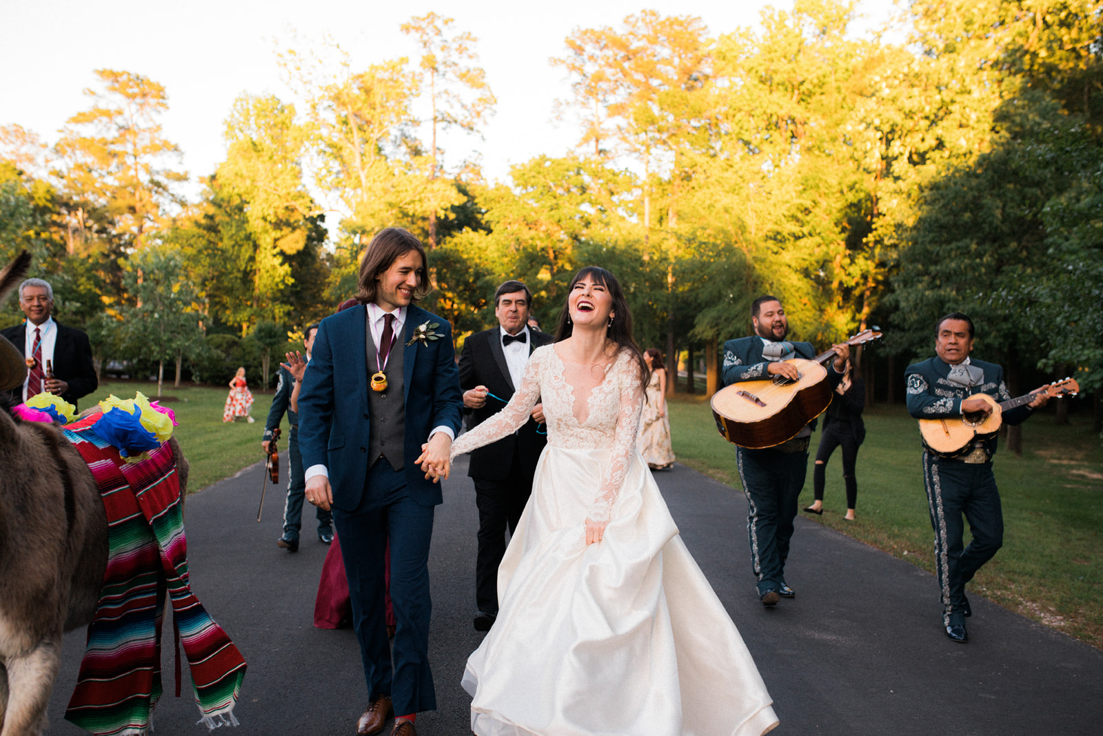 Saida + Rand: Incorporating animals into your wedding day