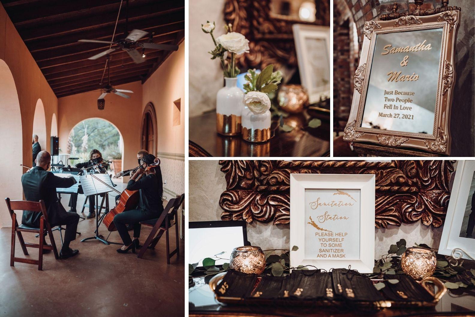 11 Samantha and Mario - Madera Estates Conroe Texas - Twilight Evening Outdoor Ceremony