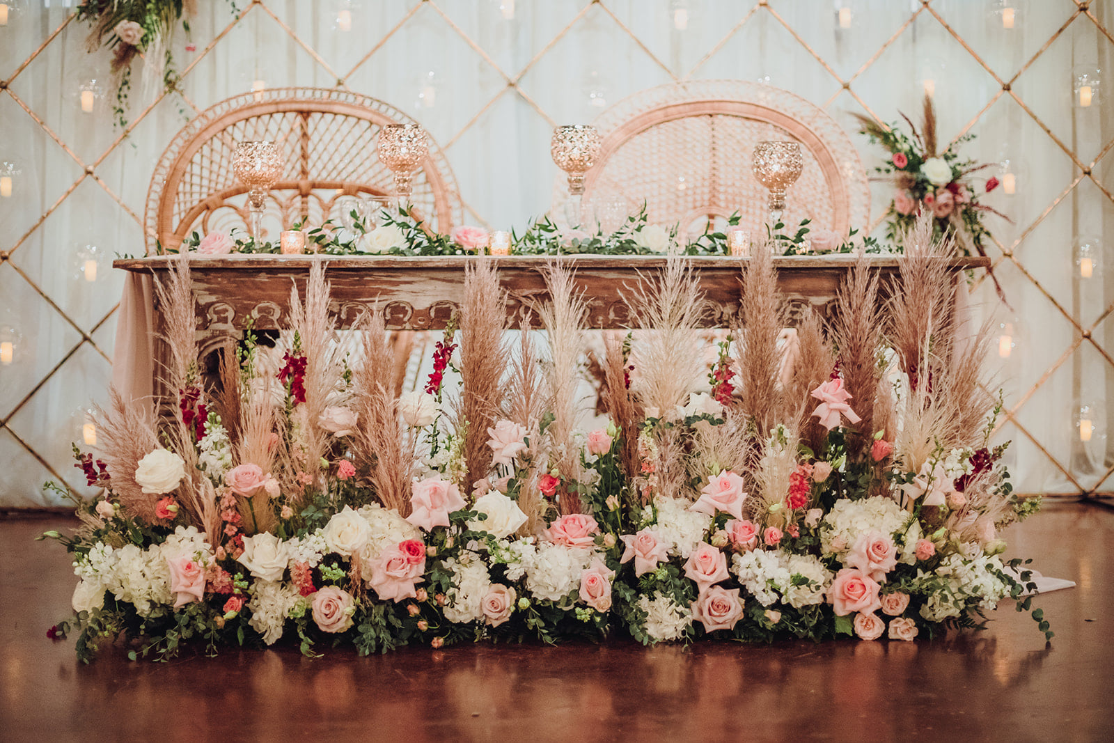Sweetheart Table at Madera Estates in Conroe, Texas