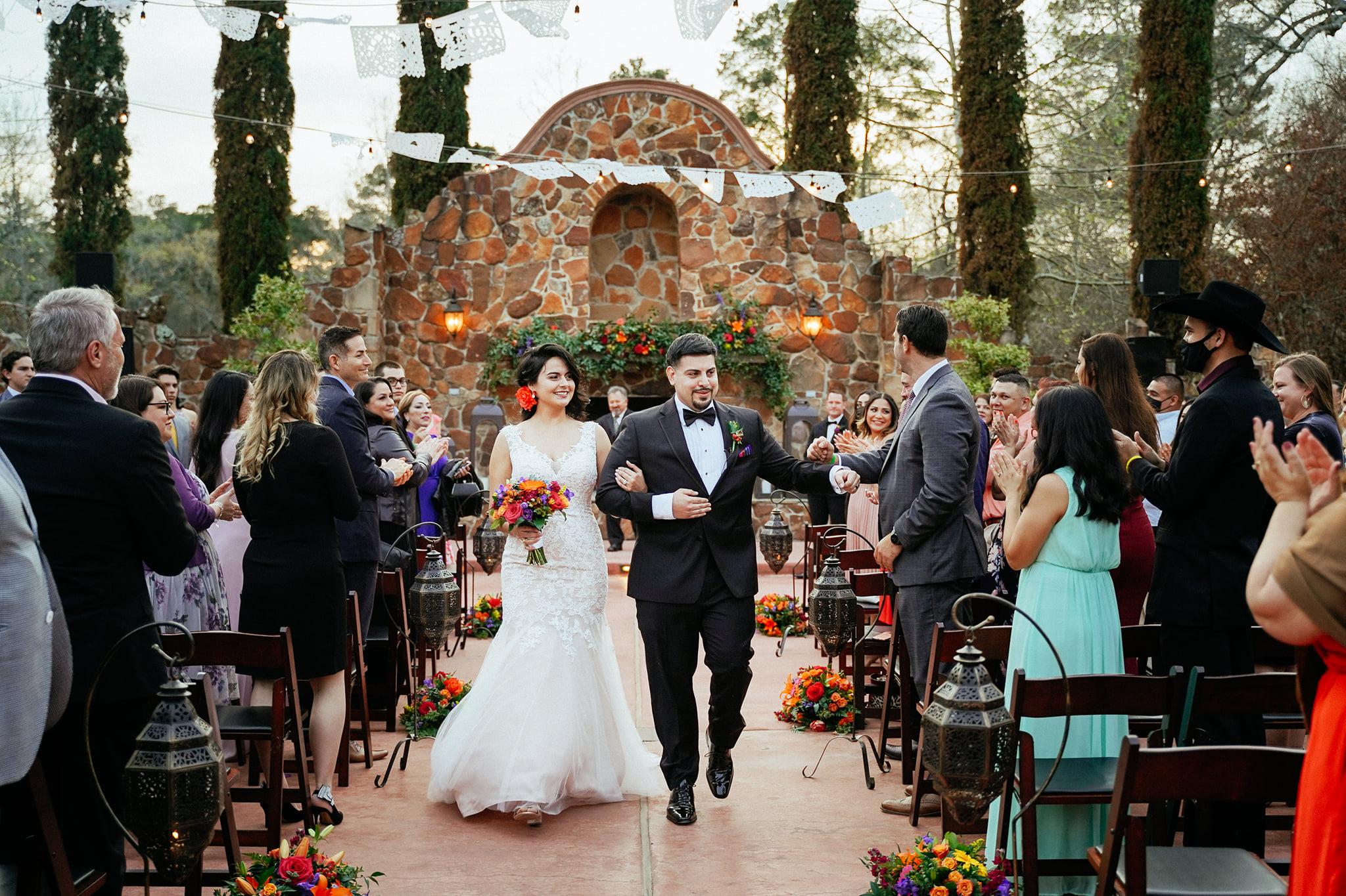 Fiesta Themed Wedding Madera Estates