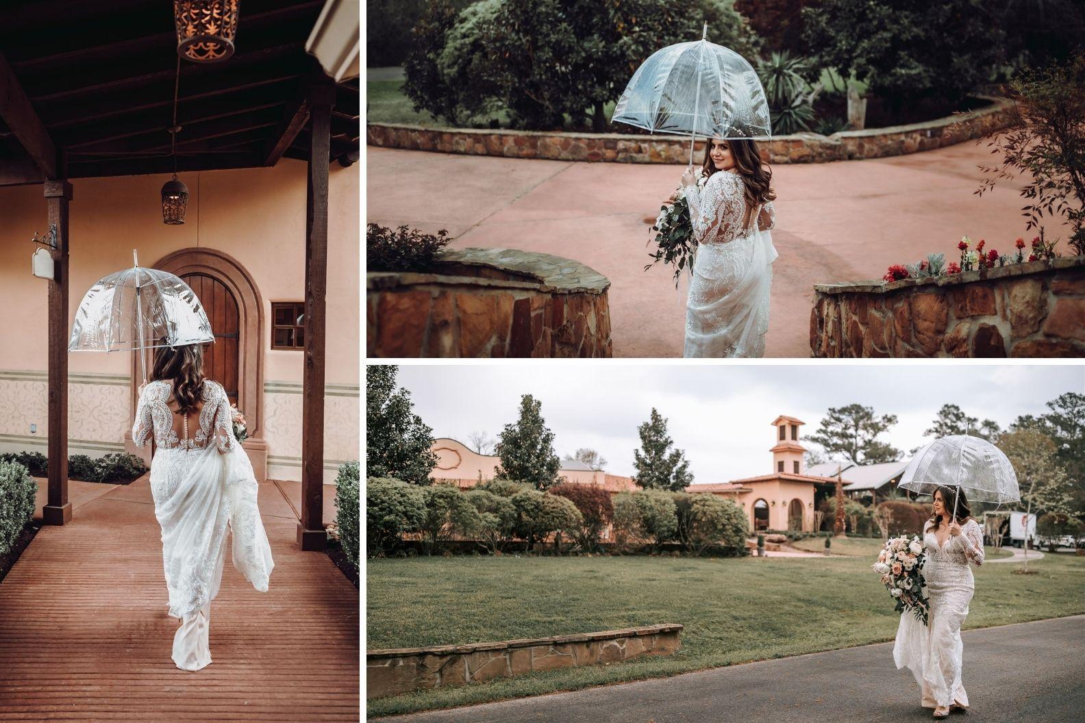6 Samantha and Mario - Madera Estates Conroe Texas - Twilight Evening Outdoor Ceremony
